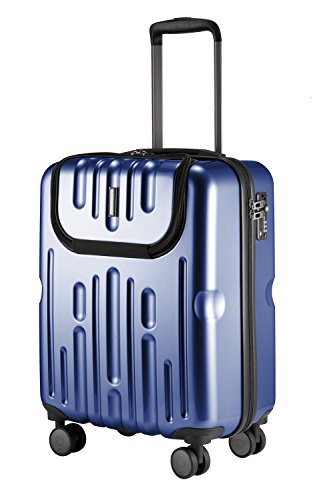 HAUPTSTADTKOFFER - Havel - Luggage Suitcase Hardside Spinner Trolley Expandable TSA 20' Darkblue by Hauptstadtkoffer