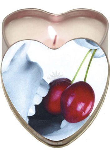 - Edible Heart Candle Cherry