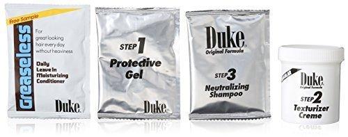 Duke Texturizing Creme Kit for Men Regular by Duke London Creme Texturizing Kit