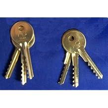Universal 6 Piece Standard & REVERSE 5/6 Lever Bump Keys by Keys-Cut.com