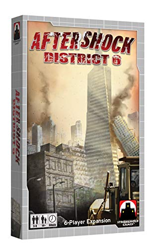 Indie Boards and Cards Aftershock Expansion District 6