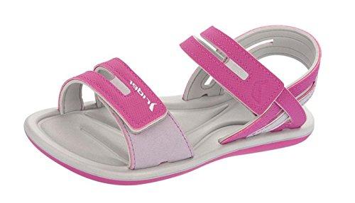 Rider Brasil Surf Sandal V Womens Strappy Sandals Grey/Fuchsia 19K24