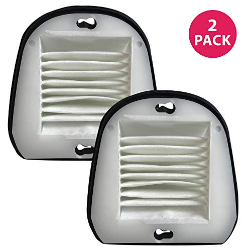 Think Crucial 2 Replacement for Black & Decker VF20 Filter Fits Dustbuster, Compatible With Part # VF-20, 499739-00 & 49973900, Washable & Reusable