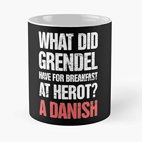 Beowulf Old English Anglo Saxon Epic Poem - Gift Coffee Mug 11 Oz Funny