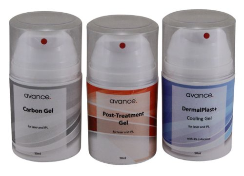 Laser and IPL machine gel kit: 50ml of each formula.