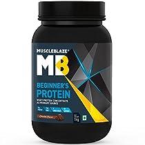 MuscleBlaze Beginners Protein 1kg
