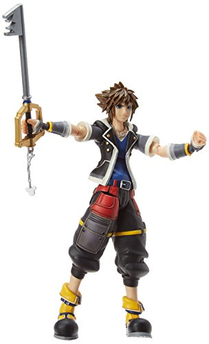 Square Enix Kingdom Hearts 3: Sora (2Nd Form) Bring Arts Action Figure