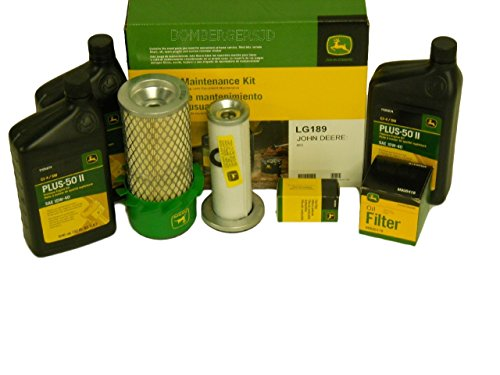 John Deere Original Equipment Filter Kit #LG189