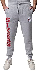 Unk Nba Men's Philadelphia 76ers Jogger Pants Active Basic Soft Terry Sweatpants, X-large, Gray