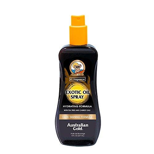 Australian Gold Dark Tanning Exotic Oil Spray 8 Fl - Oils Tanning Best