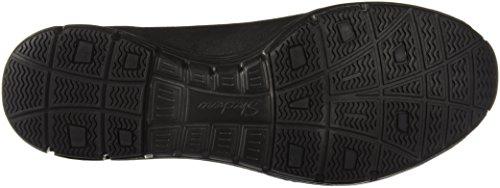 Ripple Mujer Cordones sin Negro Triple Seager Ondulado Skechers49541 Borde qxTfnfE