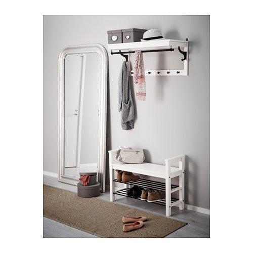 Ikea HEMNES - Banco con almacenaje del Zapato, Blanco ...