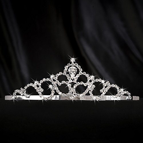 Shindigz Treasured Dreams Tiara Princess Queen Crown Silver
