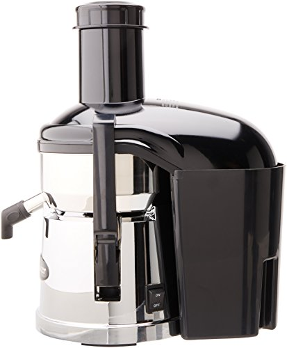 Omega BMJ390 Mega Mouth Pulp Ejection Juicer, Chrome
