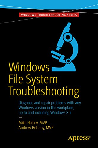 Windows File System Troubleshooting Pdf