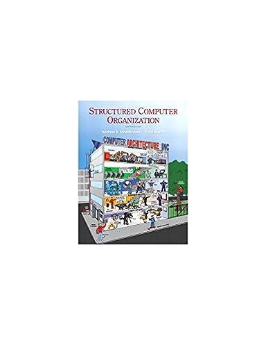 structured computer organization 6th edition andrew s tanenbaum rh amazon com  Computer Design and Organization