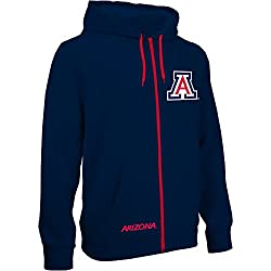 Arizona Wildcats Zip Up Hooded Sweatshirt Navy - XL