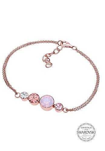 Elli - Bracelet - Plaqué or - Cristal - 18 cm - 0212161115_18
