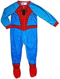 Spiderman Boy Footed Sleeper Blanket Pajama Size 6/7