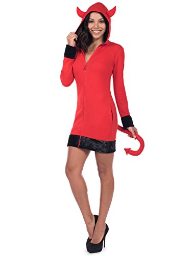 Devil Outfit Ideas For Halloween (Tipsy Elves Sexy Devil Halloween Costume Dress: Large)
