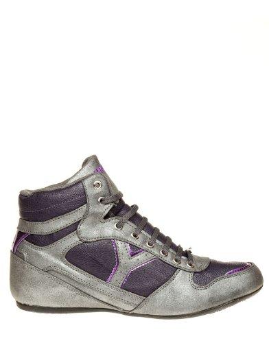 Yumas Zapatillas Helena Boot gris / morado 37: Amazon.es: Zapatos y complementos