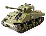 POCO DIVO Sherman M4A3 US Medium Tank RC IR Battle