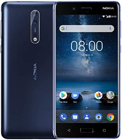Amazon.com: Nokia 8 TA-1012 64GB Single Sim GSM Unlocked ...
