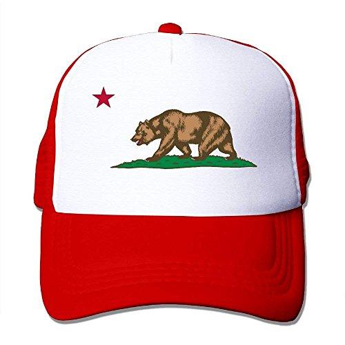 Flag Unisex Trucker Popular Hats Mesh C58 Caps Adjustable Black Logo Bear Hot Cap California Cool Hat For qzp6I6