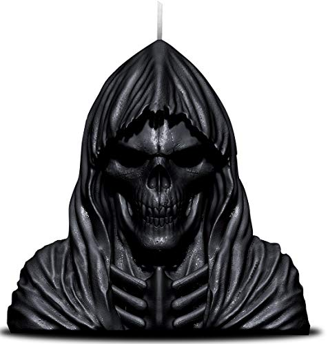 Spiral - Wax Reaper with Skull - Scented Candle with Metal Sculpture Inside (Candle Sculpture)