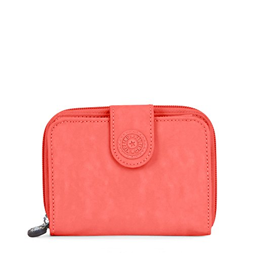 New Money Solid Snap Wallet Wallet, PAPAYAORNG, One Size by Kipling