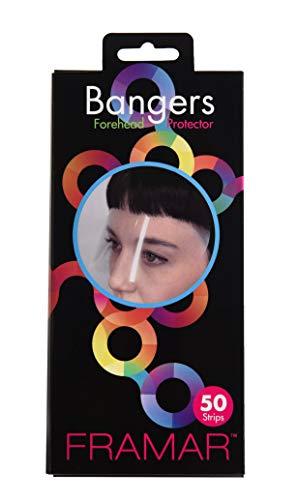 Framar Bangers (Transparent Forehead Protectors & Eye Mask) - 50 Pack
