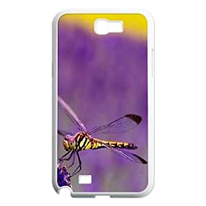 Beautiful Dragonfly Customized Cover Case for Samsung Galaxy Note 2 N7100,custom phone case ygtg-309091
