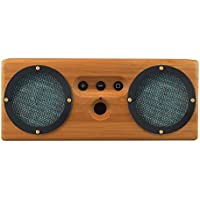 Otis & Eleanor Bongo Bamboo Wood Bluetooth Speaker, Geneva