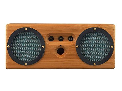Otis & Eleanor Bongo Bamboo Wood Bluetooth Speaker, Geneva