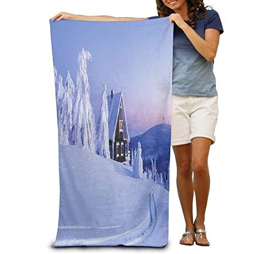 Bath Towel Microfiber BAGT, Promotional Christmas Ski Oversized Beach Towel Pool Towel,Swim Towels for Bathroom,Gym,and Pool 31x51 ()