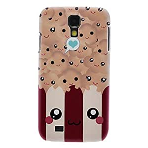 Matte Style Smile Face Pattern Durable Hard Case for Samsung Galaxy S4 I9500