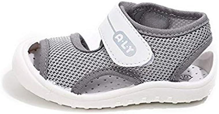 WEUIE Boys & Girls Toddler/Little Kid Outdoor Summer Sandals Open Toe  Athletic Water Shoes Sneakers Baby Girls Baby