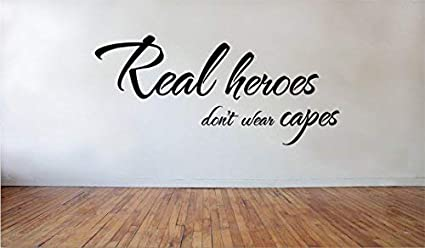 Amazon Com Mildred Rob Personalized Vinyl Stickers Real Heroes Don