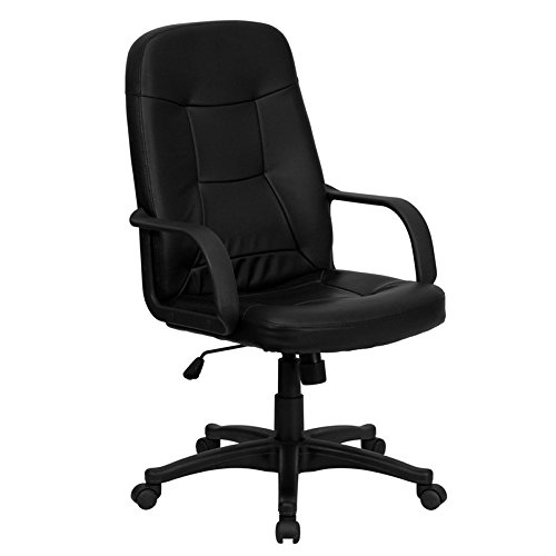 High Back Executive Glove - High Back Black Glove Vinyl Executive Office Chair [H8021-GG] electronic consumers