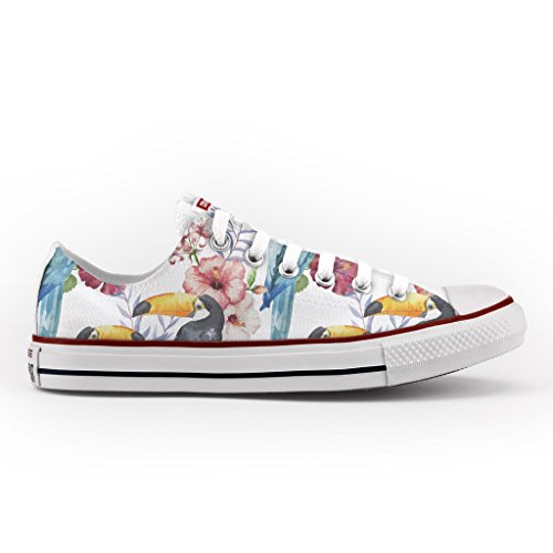 Star Converse artigianali Vintage Bassa Stars scarpe All Multicolor Personalizzate qU1nUPfR