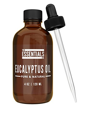 4-Ounce Premium Eucalyptus Oil by The Essentials Co. with Fr