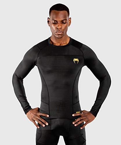 Venum G-Fit Rashguard – Long Sleeves – Black/Gold