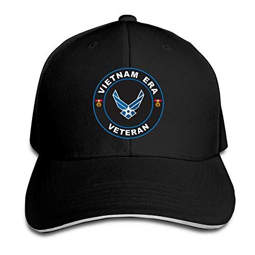 HUDF KDDF US Air Force Vietnam Era Veteran Unisex Baseball Cap Dad Hat Adjustable Trucker Hat Outdoor Hat