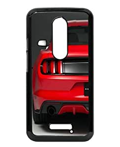 Ford Mustang 2015 Back View Black Special Custom Picture Design Motorola Moto X 3rd Generation Phone Case