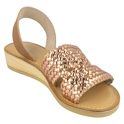 gold Rose Collection Mules Gold Femme Leather wtX6qz7t