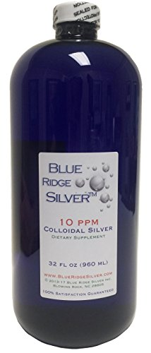 Blue Ridge Silver 10 ppm 32 oz Colloidal Silver
