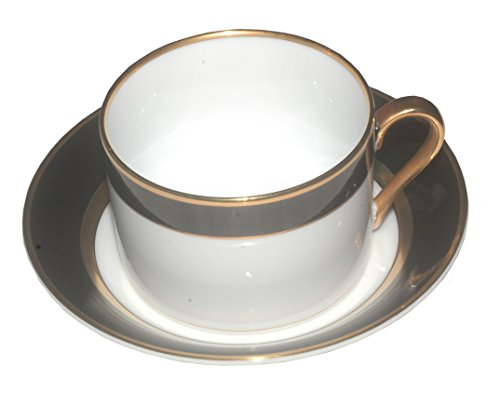 Fitz and Floyd - Renaissance Black - Cup & Saucer ()