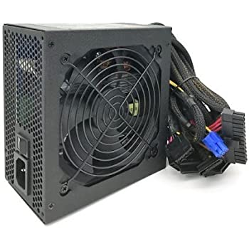 KENTEK 800 Watt 800W 120mm Fan ATX Power Supply 12V 2.3 EPS12V 2.92 SLI-ready PCI-Express SATA 20/24 PIN Intel AMD by KENTEK