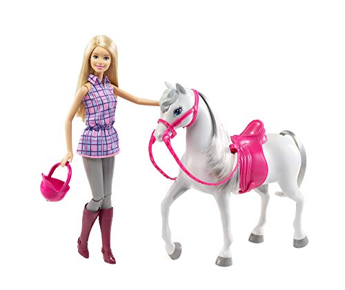 Barbie Doll & Horse (Best Place To Sell Barbie Dolls)
