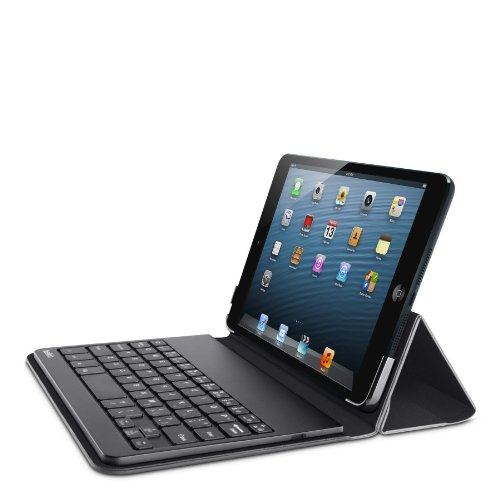 Belkin QODE Portable Bluetooth Keyboard and Case for iPad mini 3, iPad mini 2 with Retina Display and iPad mini  (Black)